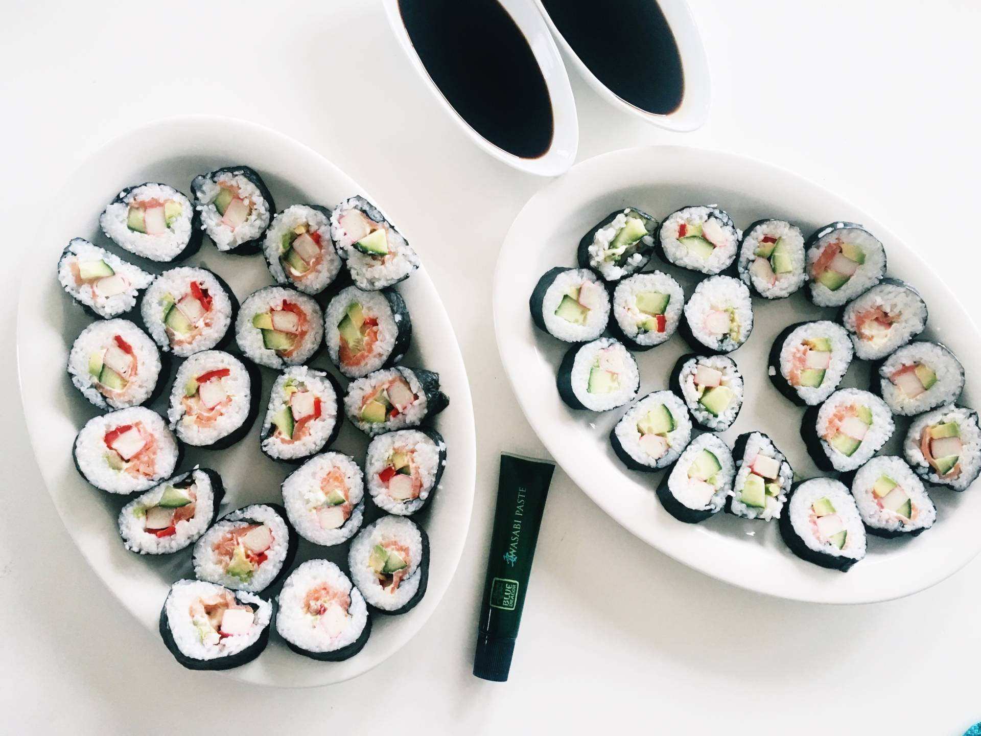 sushi hemma